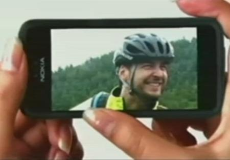 new Nokia phone with iPhone-like interface
