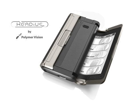 Philips READIUS mobile phone - with folding screen open