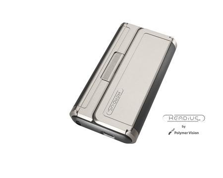 Polymer Vision READIUS folding screen mobile phone