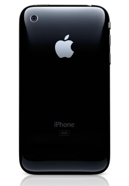 Apple iPhone 3G from the back