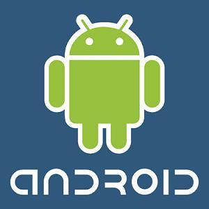 Google Android mobile phone logo