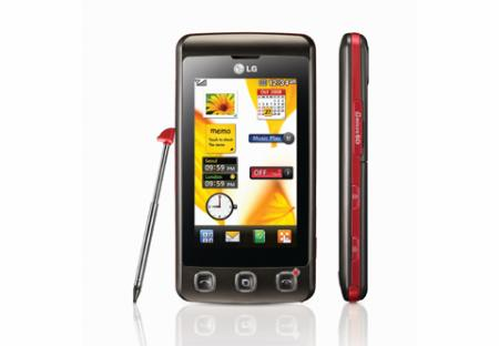 LG KP500 budget mobile phone