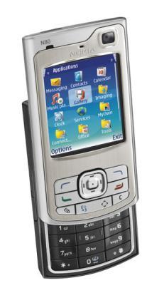Nokia N80 multimedia mobile phone
