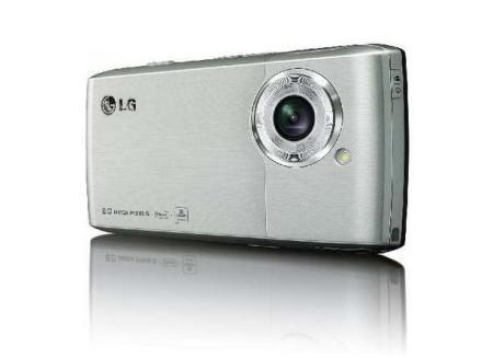 LG Viewty Smart showing 8 megapixel camera