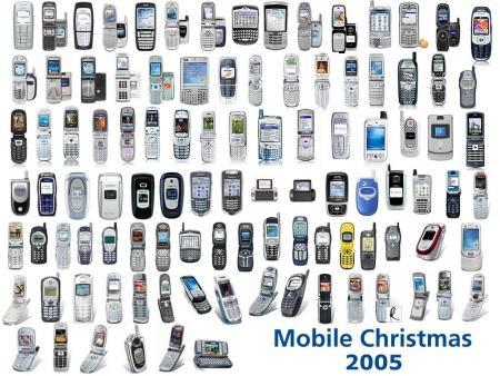 All America's mobile phones