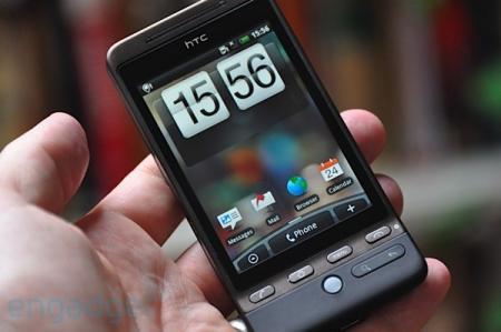 HTC Hero's screen
