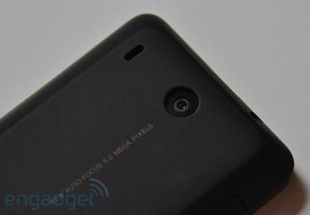 HTC Hero's camera