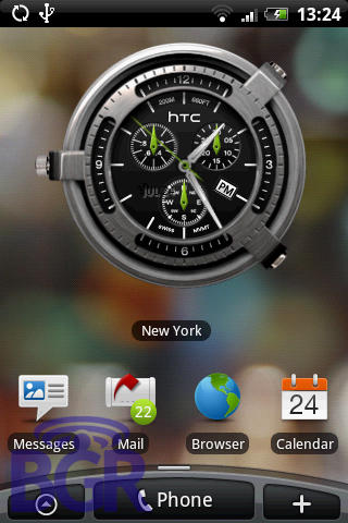 HTC Hero's widgets