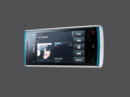 Nokia X6 Comes with Music