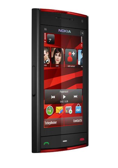 Nokia X6 mobile phone