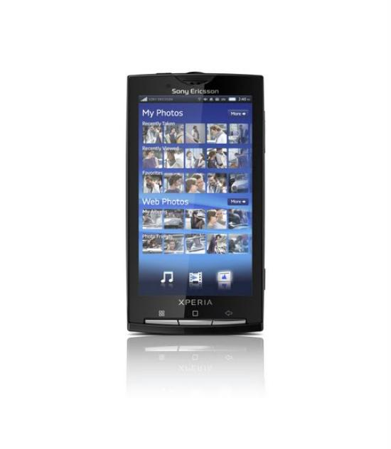 Sony Ericsson Xperia showing Mediascape