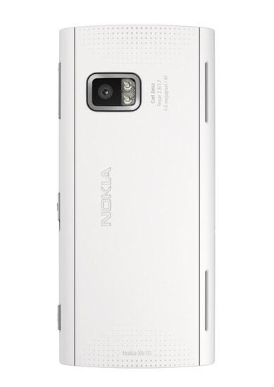 Nokia X6 phone review showing camera