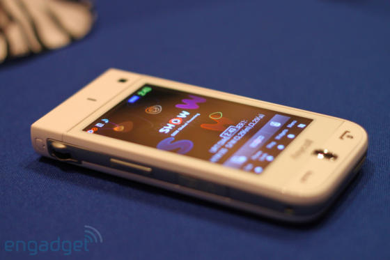 Samsung W9600 phone