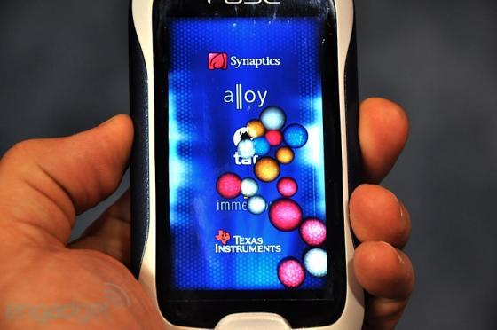 Synaptic Fuse haptic phone