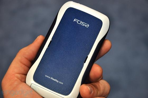 Synaptics Fuse haptic phone
