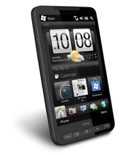HTC HD2 Windows Mobile phone
