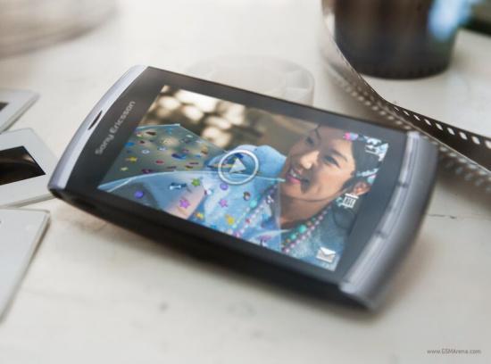 Sony Ericsson Vivaz video phone