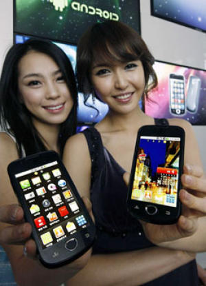 Samsung SHW-M100S phone