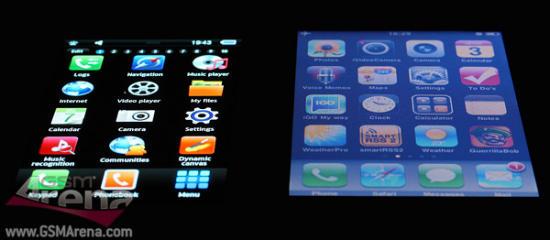 Samsung SHW M100S smartphone