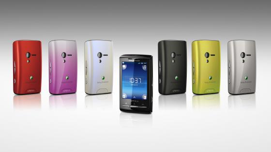 Sony Ericsson Xperia X10 Mini and Mini Pro