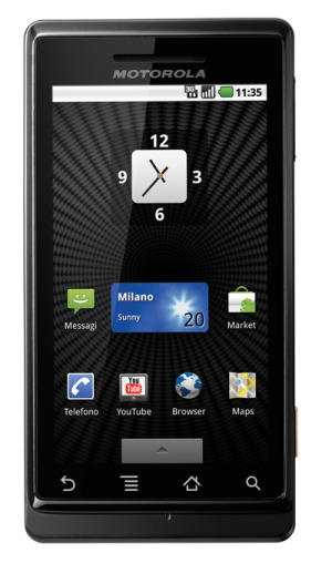 Motorola Milestone Android phone review