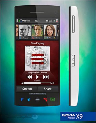 Nokia X9 phone