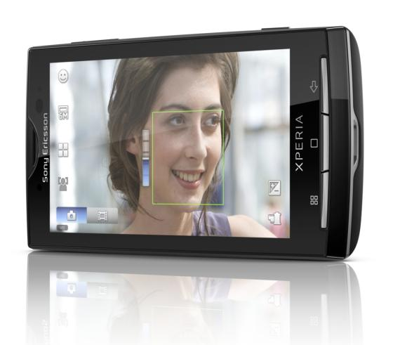 Sony Ericsson Xperia X10 - camera interface