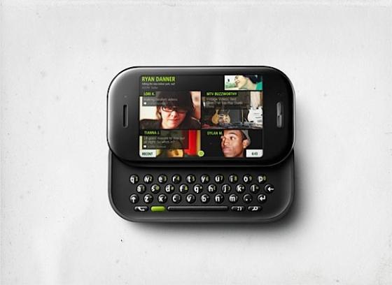 Microsoft Kin Two phone