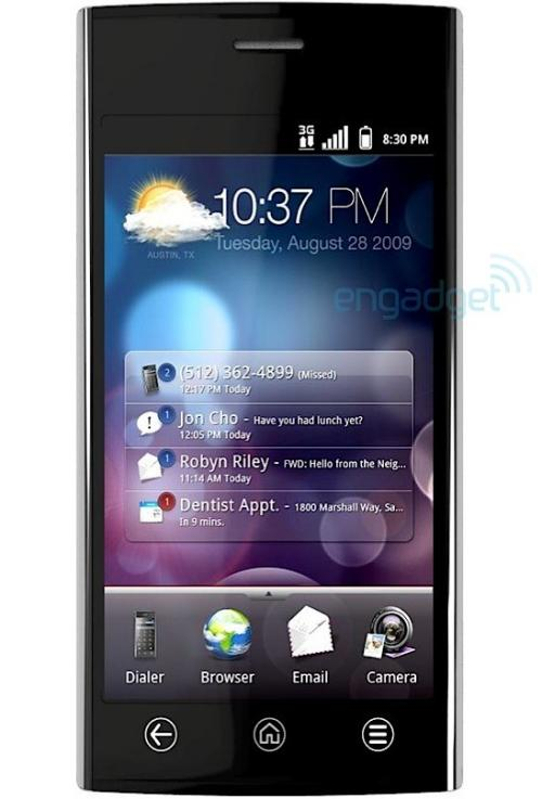 Dell Thunder smartphone specification