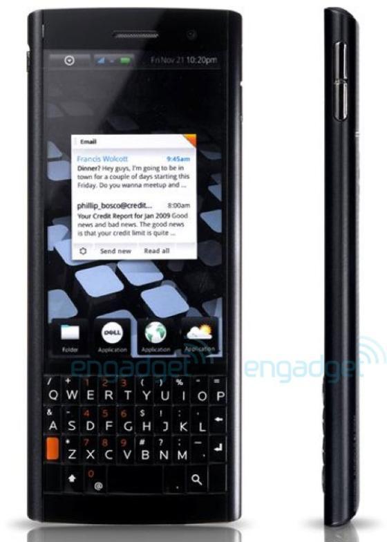 Dell Smoke smartphone