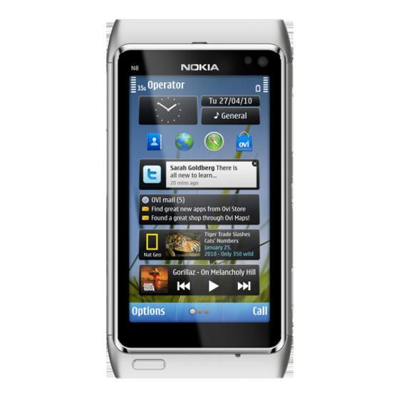 Nokia N8 mobile phone
