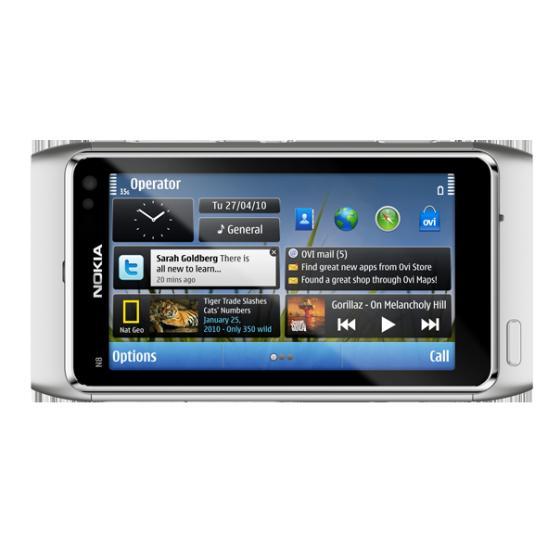 Nokia N8 Symbian 3 phone