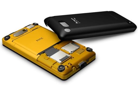 HTC HD mini smartphone