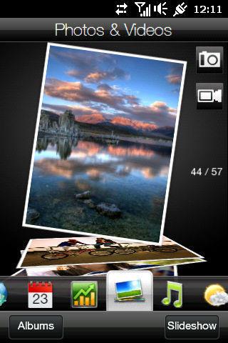 HTC HD Mini with Sense UI