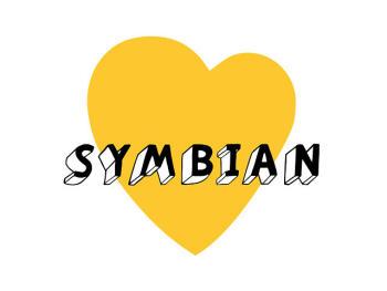 Symbian^3 logo