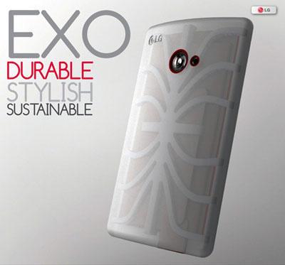 LG Exo concept phone