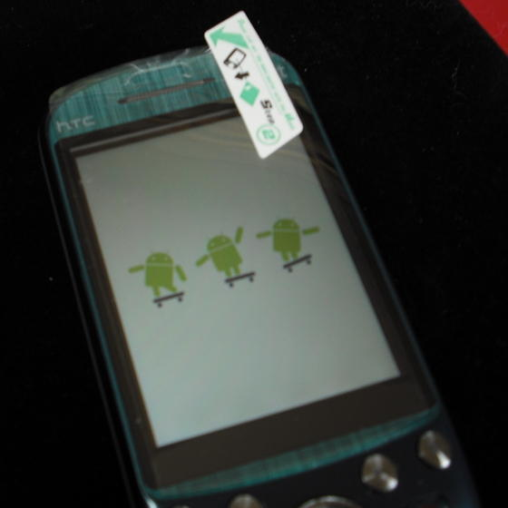 HTC Fiesta Android phone