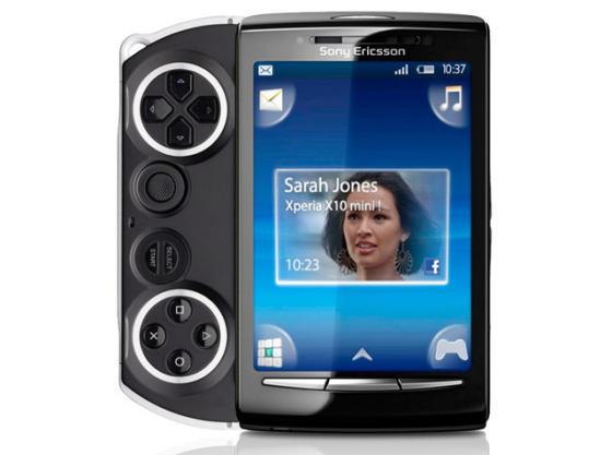 Sony Ericsson PSP phone mockup