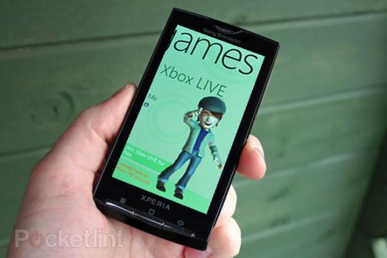 Sony Ericsson Windows Phone 7 device
