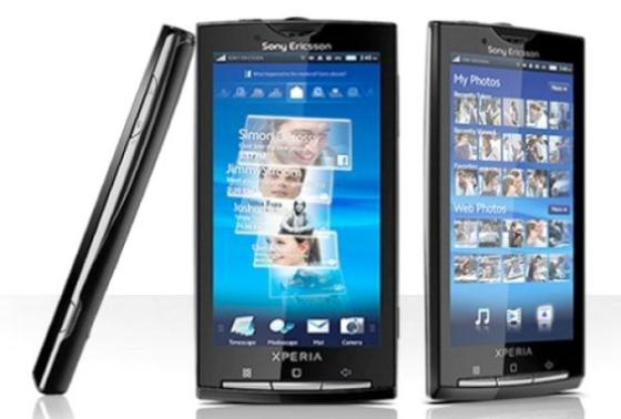 Sony Ericsson Xperia X10 Android phone