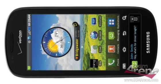 Samsung Continuum Android phone