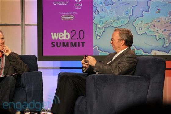 Eric Schmidt and the Google Nexus S