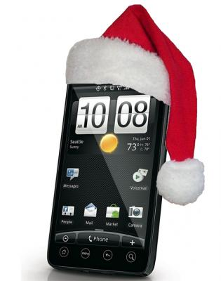 mobile phone with free gifts - Santa Android