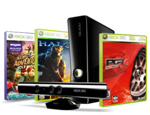 Mobile phone free gift - XBox 360 and Kinect