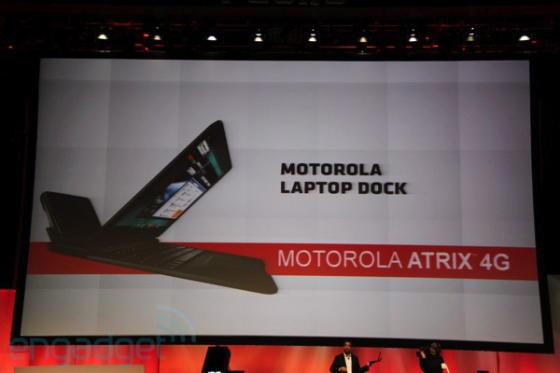 Motorola Laptop dock with Motorola Atrix 4G