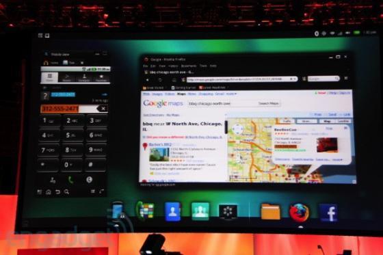 Motorola Atrix 4G and Webtop app