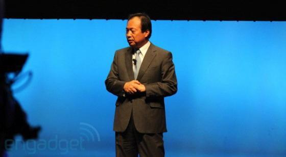 Samsung president JK Chin