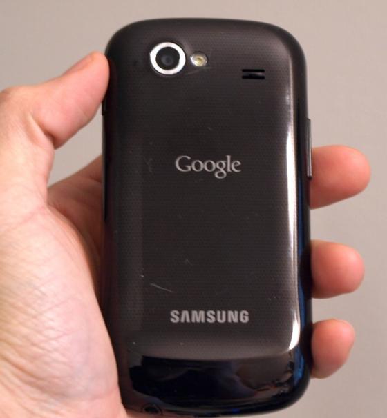 Goolge Nexus S camera