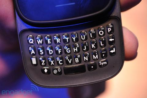 HP Veer keyboard