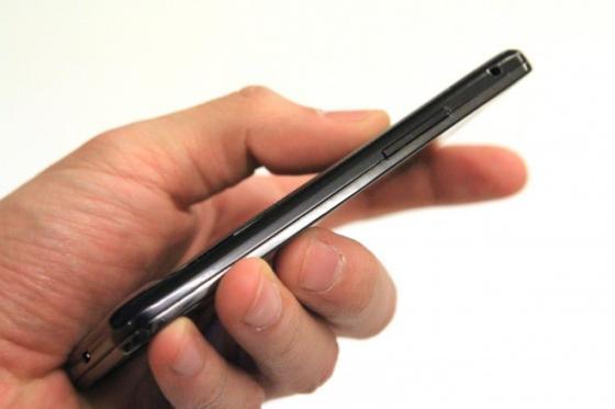 Samsung Galaxy S II side on